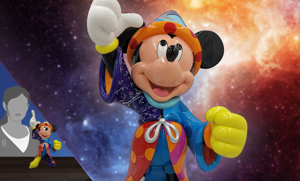 Gallery Feature Image of Sorcerer Mickey Figurine - Click to open image gallery