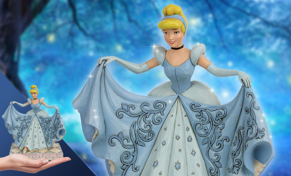 Gallery Feature Image of Cinderella Transformation Figurine - Click to open image gallery