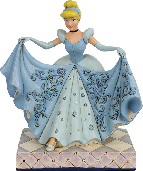 Enesco, LLC Cinderella Transformation Figurine