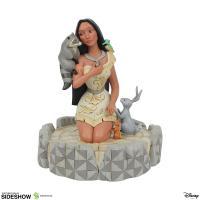 Gallery Image of White Woodland Pocahontas Figurine