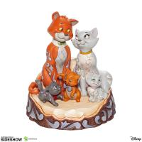 Gallery Image of Aristocats Carved by Heart Figurine