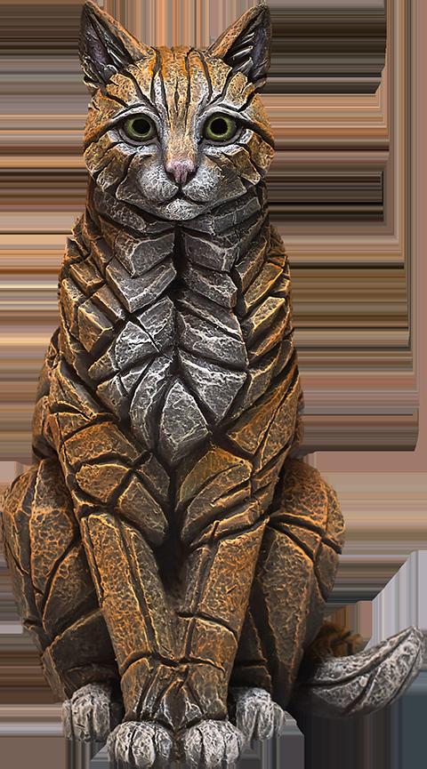 Enesco, LLC Cat Edge Sculpture Statue