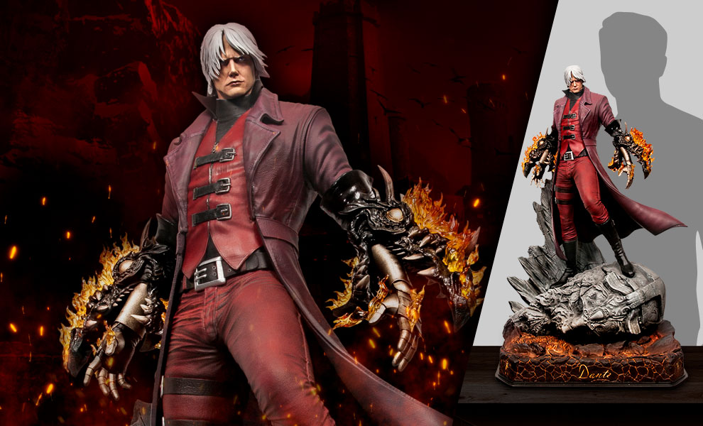 Gallery Feature Image of Dante (Master Edition) 1:3 Scale Statue - Click to open image gallery