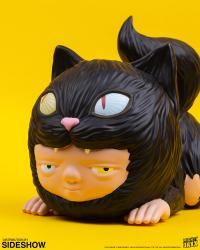 Gallery Image of Storm Cat Polystone Statue