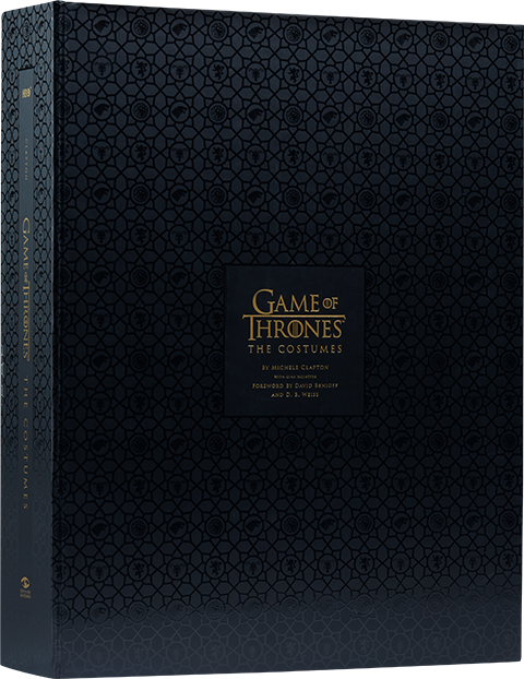 Insight Editions Game of Thrones: The Costumes (Deluxe) Book