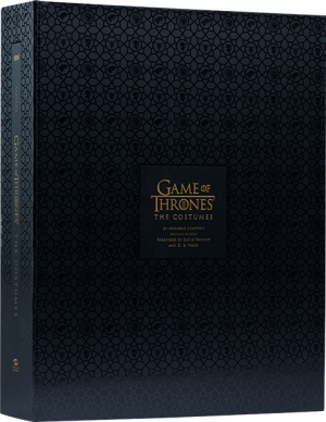 Game of Thrones: The Costumes (Deluxe) Book