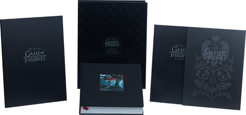 Insight Editions The Art of Game of Thrones (Deluxe) Book