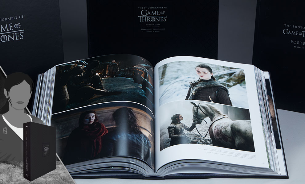 Gallery Feature Image of The Photography of Game of Thrones (Deluxe) Book - Click to open image gallery