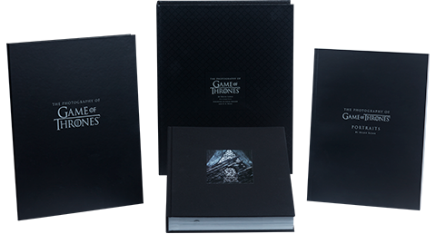Insight Editions The Photography of Game of Thrones (Deluxe) Book