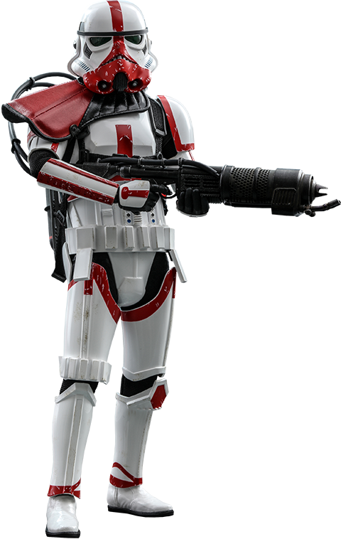 Hot Toys Incinerator Stormtrooper Sixth Scale Figure