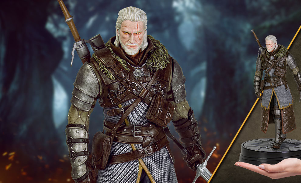Gallery Feature Image of Geralt Grandmaster Ursine Figure - Click to open image gallery