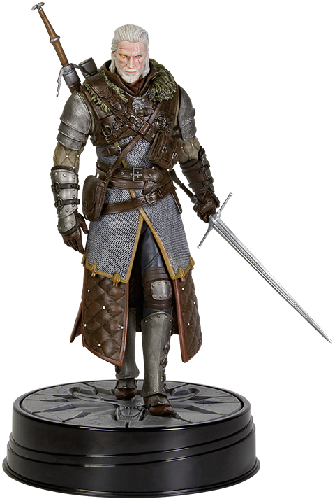 Dark Horse Comics Geralt Grandmaster Ursine Figure