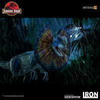 Gallery Image of Dilophosaurus 1:10 Scale Statue