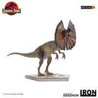 Gallery Image of Dilophosaurus Statue