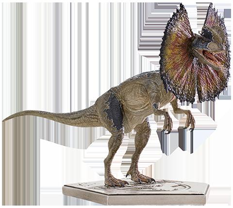 Iron Studios Dilophosaurus Statue