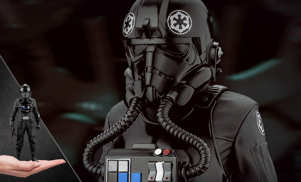 Gallery Feature Image of Tie Fighter Pilot Statue - Click to open image gallery