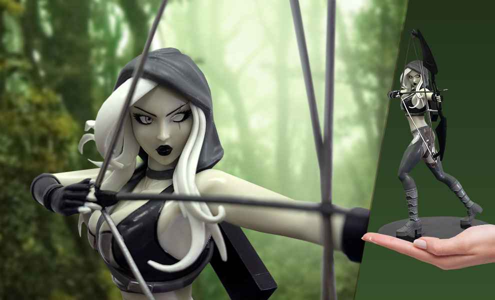 Gallery Feature Image of Robyn Hood (Black & White) Statue - Click to open image gallery