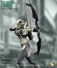 Gallery Image of Robyn Hood (Black & White) Statue