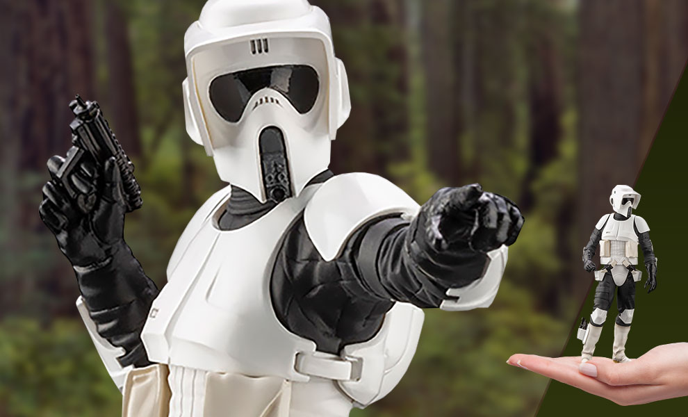Gallery Feature Image of Scout Trooper Statue - Click to open image gallery