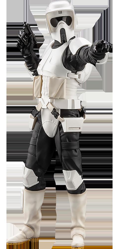 Kotobukiya Scout Trooper 1:10 Scale Statue