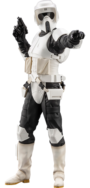 Scout Trooper Statue