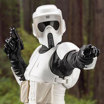 Scout Trooper Star Wars 1:10 Scale Statue