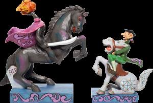 Headless Horseman & Ichabod Figurine