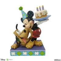 Gallery Image of Pluto & Mickey Birthday Figurine