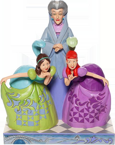 Enesco, LLC Lady Tremaine, Anastasia & Drizella Figurine