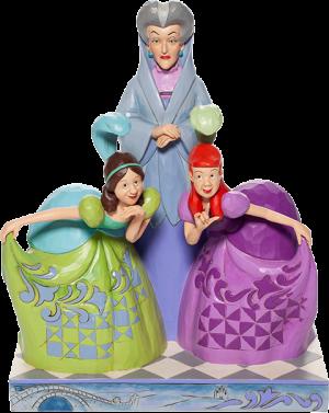 Lady Tremaine, Anastasia & Drizella Figurine