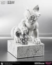 Gallery Image of Tom and Jerry White Marble Statue