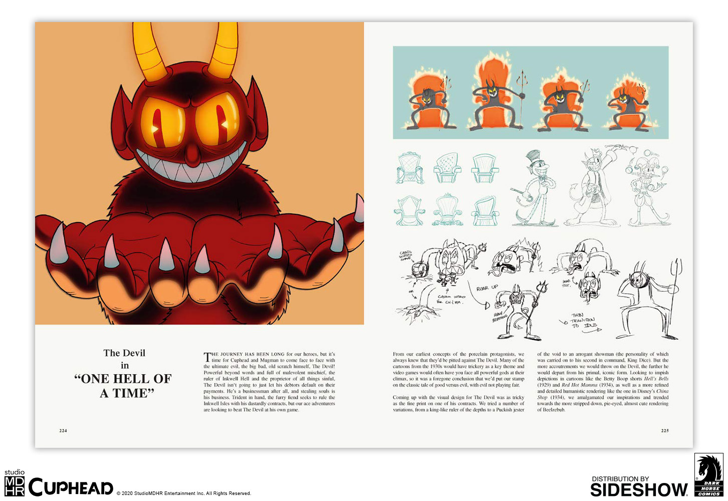 The Art of Cuphead Limited Edition Hardcover | Sideshow