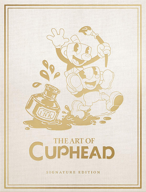 Dark Horse Comics The Art of Cuphead Book