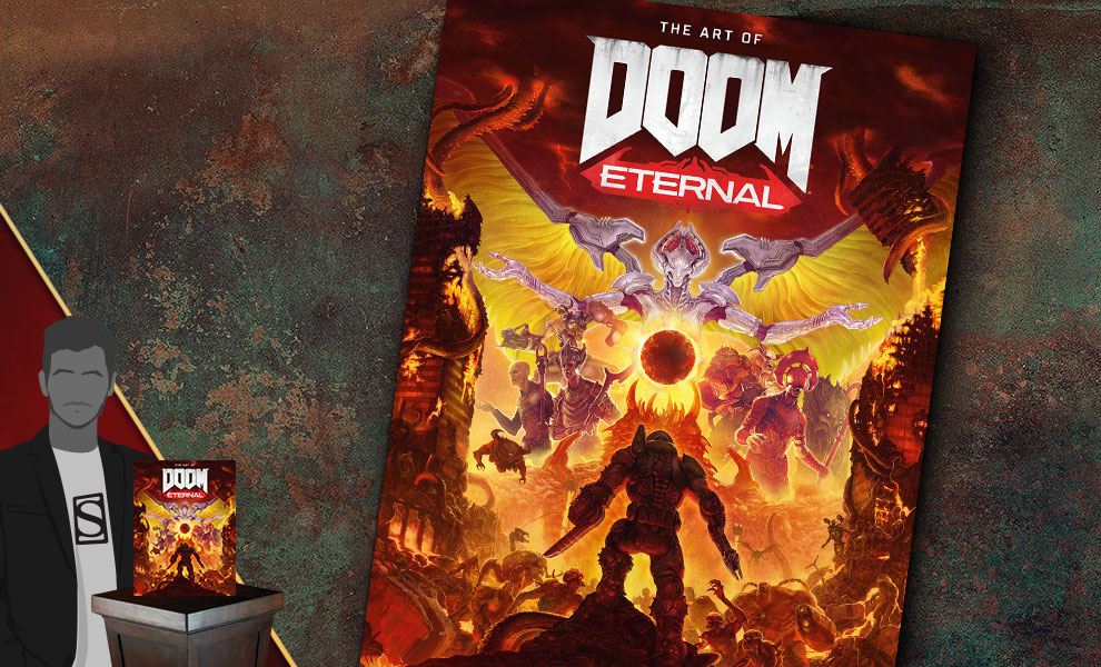 Gallery Feature Image of The Art of DOOM Eternal Book - Click to open image gallery
