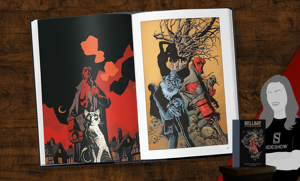 Gallery Feature Image of Hellboy: 25 Years of Covers Book - Click to open image gallery