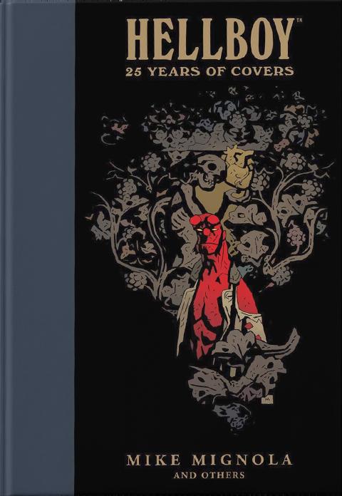 Dark Horse Comics Hellboy: 25 Years of Covers Book