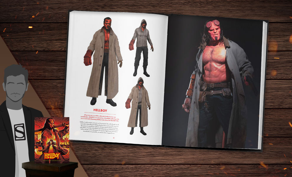 Gallery Feature Image of Hellboy: The Art of the Motion Picture Book - Click to open image gallery