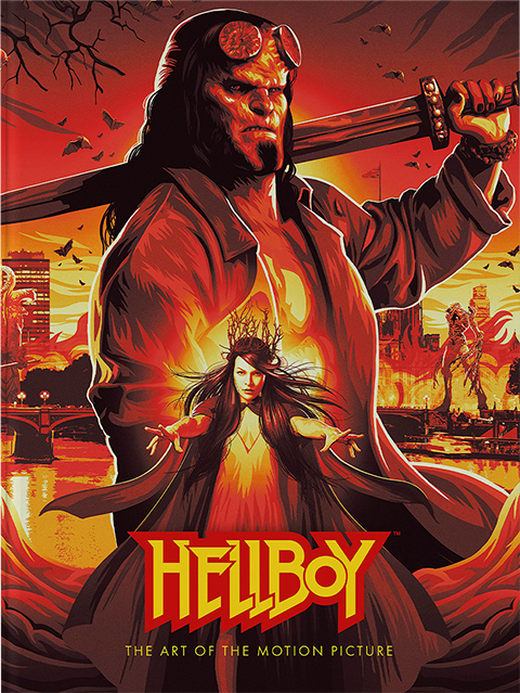 Dark Horse Comics Hellboy: The Art of the Motion Picture Book