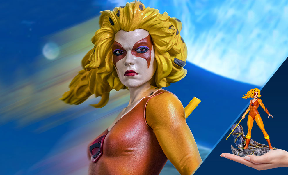 Gallery Feature Image of Cheetara 1:10 Scale Statue - Click to open image gallery