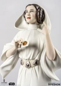 Gallery Image of Princess Leia Porcelain Statue