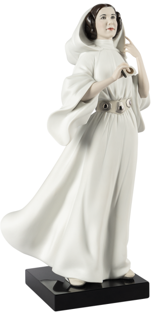 Princess Leia Porcelain Statue