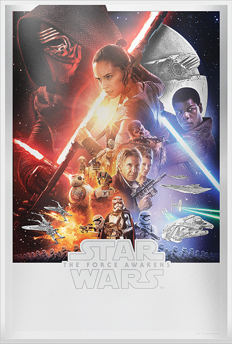 New Zealand Mint Star Wars: The Force Awakens Silver Foil Silver Collectible