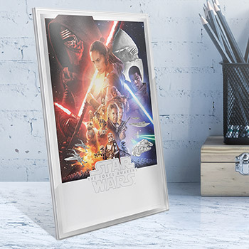 Star Wars: The Force Awakens Silver Foil Silver Collectible