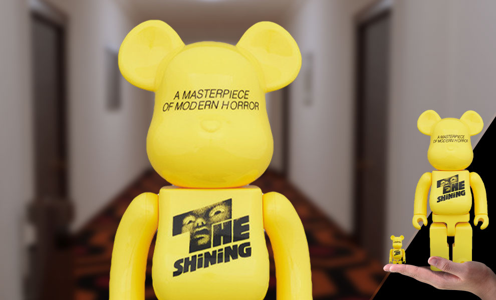 Gallery Feature Image of Be@rbrick The Shining Poster 100% & 400% Collectible Set - Click to open image gallery