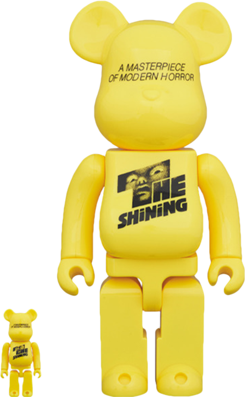 Medicom Toy Be@rbrick The Shining Poster 100% & 400% Collectible Set