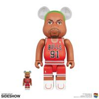 Gallery Image of Be@rbrick Dennis Rodman 100% & 400% Collectible Set