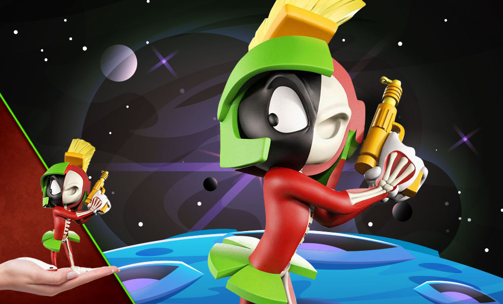 Gallery Feature Image of XXRAY Plus: Marvin the Martian Collectible Figure - Click to open image gallery