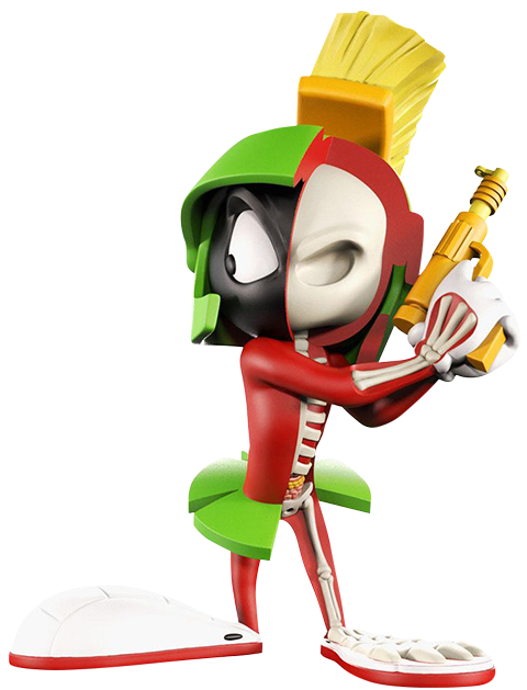 Mighty Jaxx XXRAY Plus: Marvin the Martian Collectible Figure