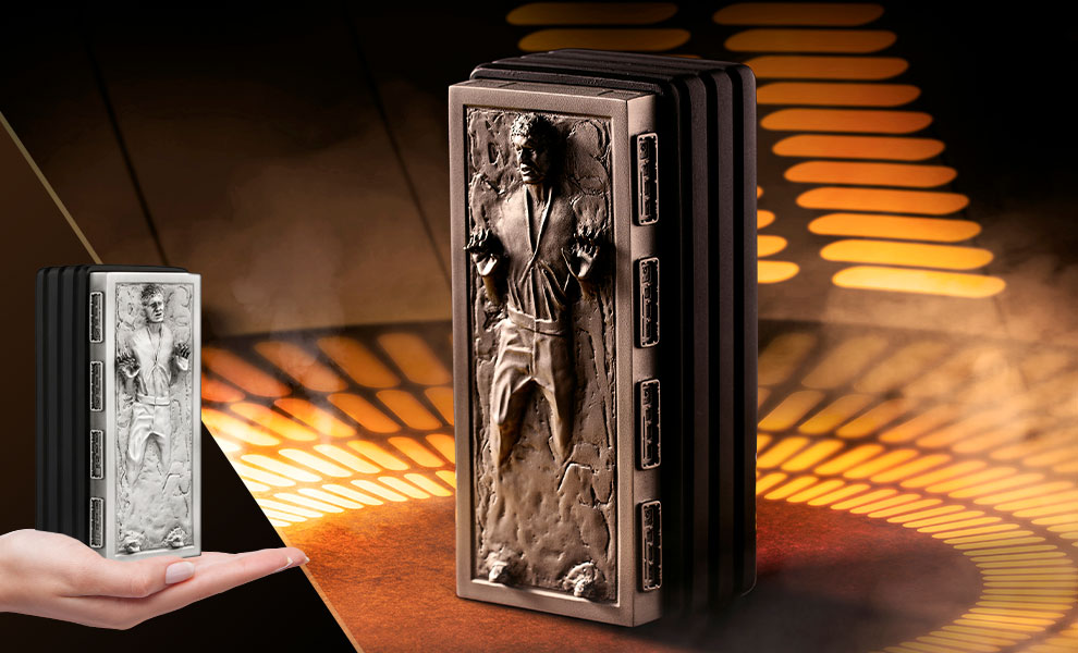 Gallery Feature Image of Han Solo Frozen Container Office Supplies - Click to open image gallery