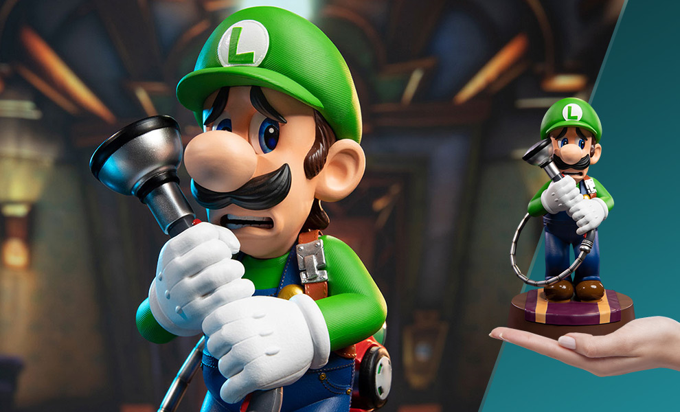 Gallery Feature Image of Luigi Statue - Click to open image gallery